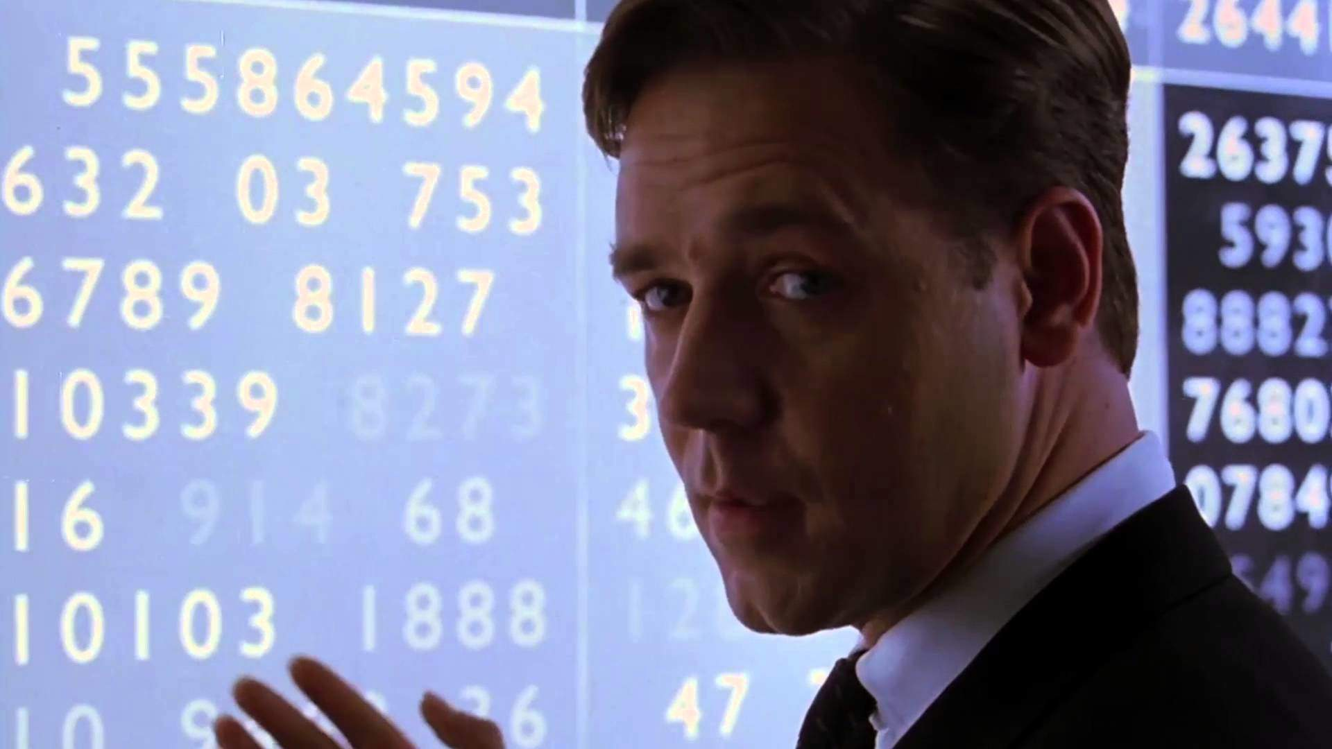 Russell Crowe as John Nash