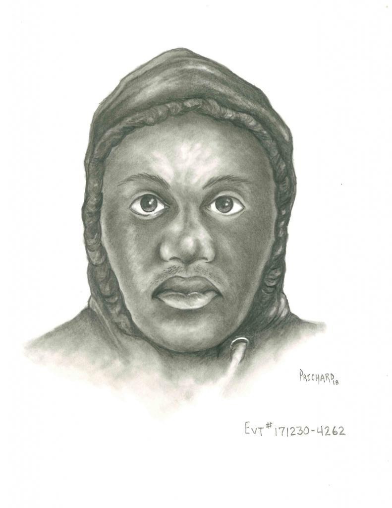Sketch of Sexual Assault Suspect