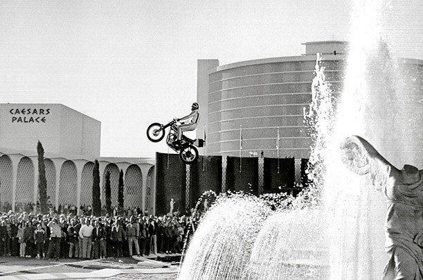 Evel Knievel's Jump