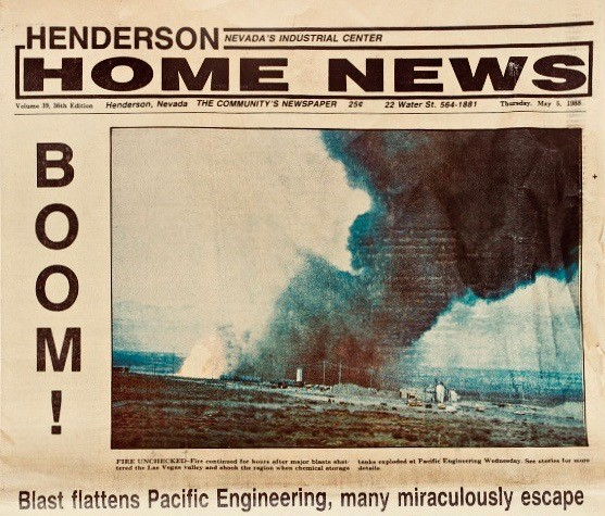 Henderson Home News Front Page