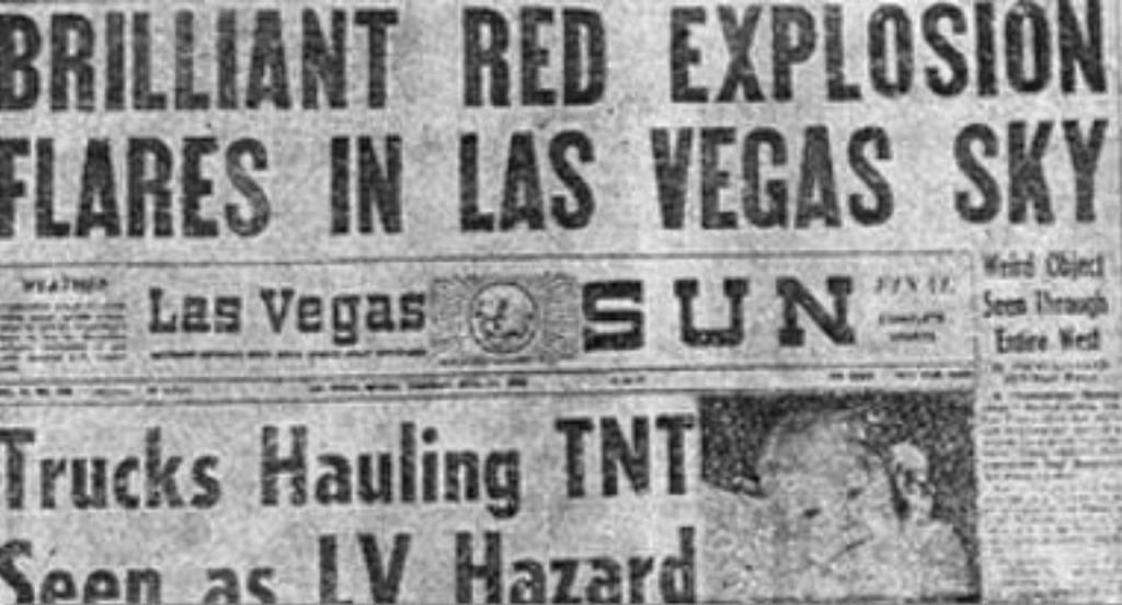 Las Vegas Sun Front Page
