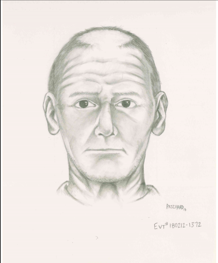Suspect Sketch In Child Luring Case