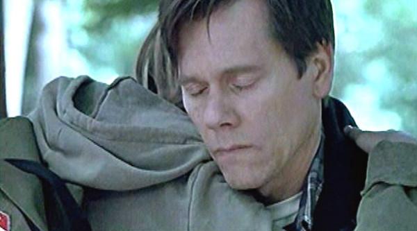 Robin hugs Walter.