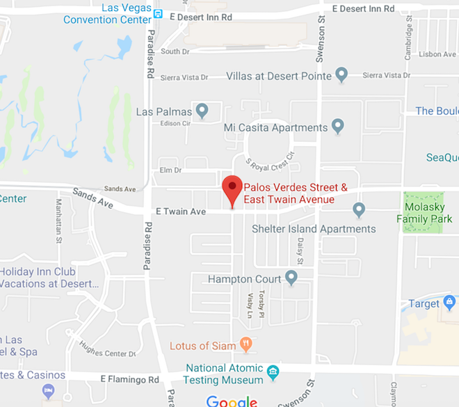 Area Where Juvenile Was Found