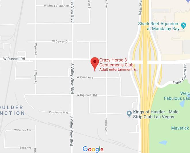 Crazy Horse III Location